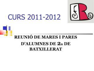 CURS 2011-2012