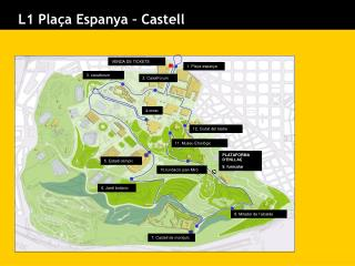 L1 Plaça Espanya – Castell