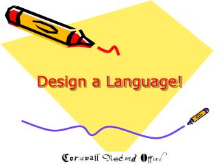 Design a Language!