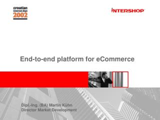 End-to-end platform for eCommerce