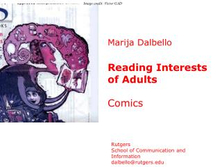 Marija Dalbello Reading Interests of Adults  Comics