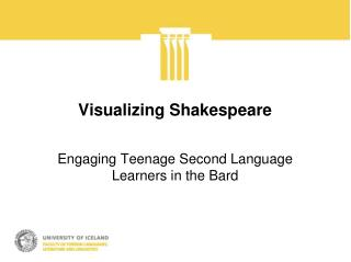Visualizing Shakespeare