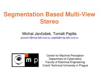 Segmentation Based  Multi- V iew  Stereo