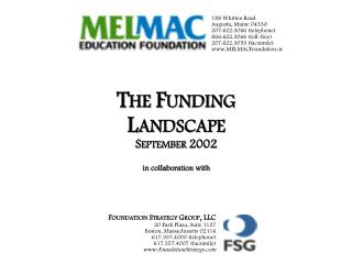 Foundation Funding