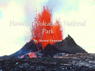 Hawaiian Volcanoes National Park