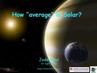 "How ""average"" is Solar?"
