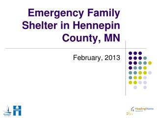 Emergency Family Shelter in Hennepin County, MN