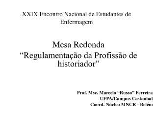 XXIX Encontro Nacional de Estudantes de Enfermagem