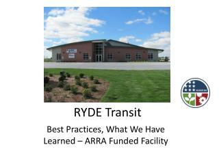 RYDE Transit