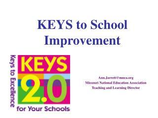 KEYS to School Improvement
