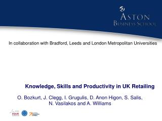 Knowledge, Skills and Productivity in UK Retailing