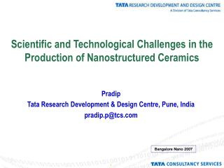 Scientific and Technological Challenges in the Production of Nanostructured Ceramics