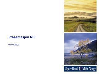 Presentasjon NFF