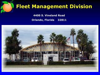 Fleet Management Division