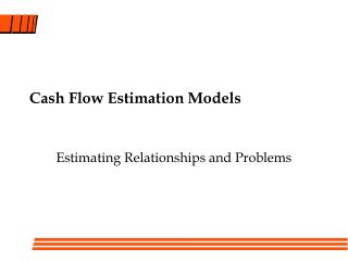 Cash Flow Estimation Models