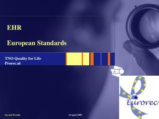 EHR European Standards