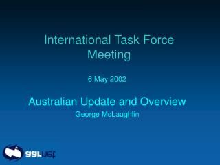 International Task Force Meeting