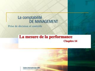 La mesure de la performance Chapitre 14