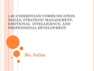 Ms. Salim