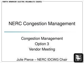 NERC Congestion Management