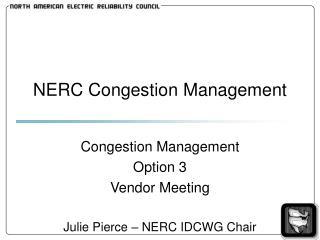 NERC Congestion Management