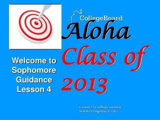 Aloha Class of 2013