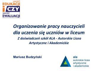 Mariusz Budzyński