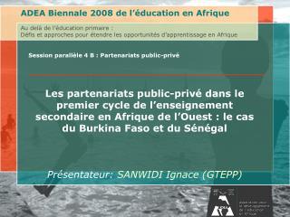 Au del  de l  ducation primaire : D fis et approches pour  tendre les opportunit s d apprentissage en AfriqueAssociation