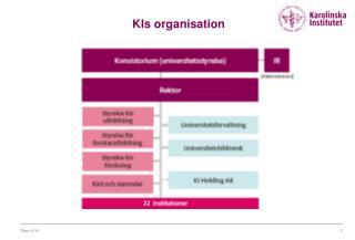 KIs organisation