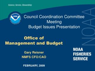 Council Coordination Committee Meeting Budget Issues Presentation