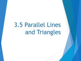 Angles and Their Measure  4.1