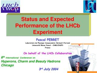 Status and Expected Performance of the LHCb Experiment
