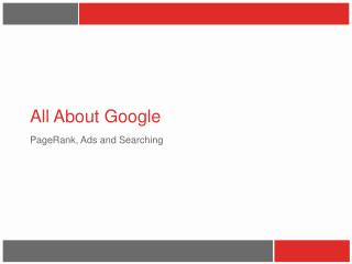 All About Google