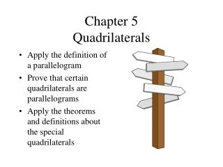 Chapter 5 Quadrilaterals