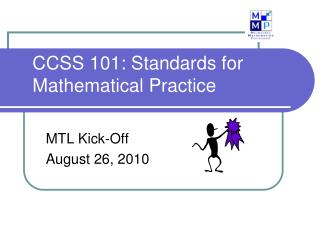 CCSS 101: Standards for Mathematical Practice