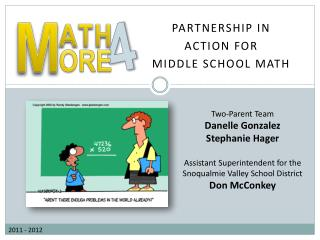 Partnership in  Action for  middle school math