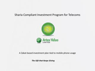 Sharia Compliant Investment Program for Telecoms