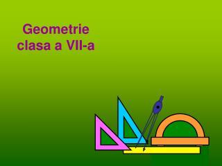 Geometrie clasa a VI I -a