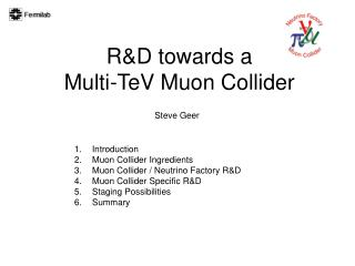 R&D towards a  Multi-TeV Muon Collider