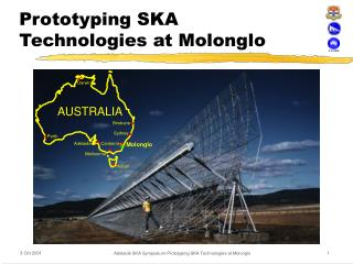 Prototyping SKA Technologies at Molonglo