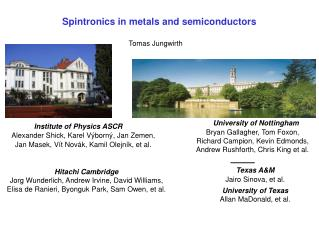 Spintronics in metals and semiconductors