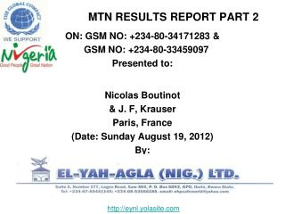MTN RESULTS REPORT PART 2