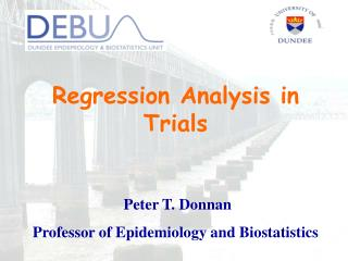 Regression Analysis in Trials