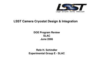 LSST Camera Cryostat Design & Integration