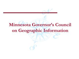 Minnesota Governor's Council on Geographic Information
