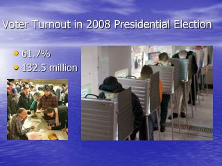 Voter Turnout in 2008 Presidential Election