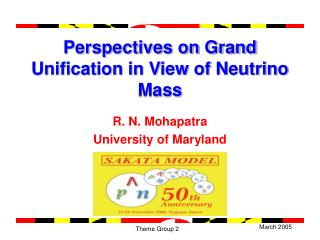 Perspectives on Grand Unification in View of Neutrino Mass