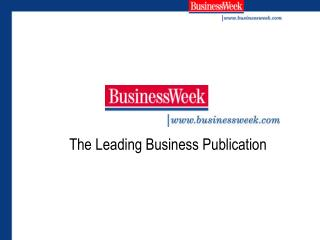 The Leading Business Publication