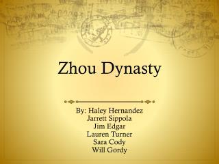 Zhou Dynasty