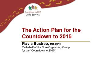 The Action Plan for the Countdown to 2015
